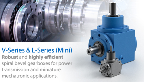 Gear Reducers | Spiral Bevel Gearbox V Series